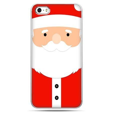 Świąteczne eui na telefon Święty Mikołaj.