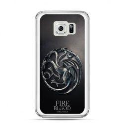 Etui na Galaxy S6 Edge Plus - Gra o Tron Targaryen house herb