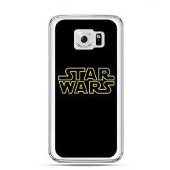 Etui na Galaxy S6 Edge Plus - Star Wars złoty napis