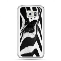 Etui na Galaxy S6 Edge Plus - zebra
