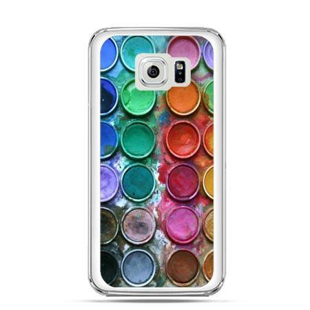 Etui na Galaxy S6 Edge Plus - kolorowe farbki