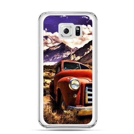 Etui na Galaxy S6 Edge Plus - retro pick-up