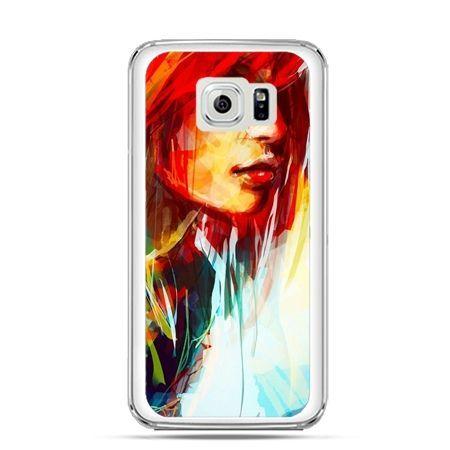 Etui na Galaxy S6 Edge Plus - kobieta akwarela