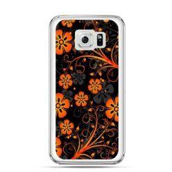 Etui na Galaxy S6 Edge Plus - nocne kwiaty