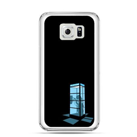 Etui na Galaxy S6 Edge Plus - nocna budka telefoniczna
