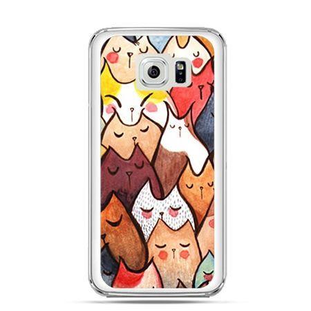 Etui na Galaxy S6 Edge Plus - koty