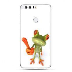 Etui na Huawei Honor 8 - śmieszna żaba