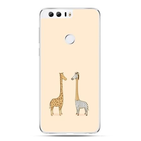 Etui na Huawei Honor 8 - żyrafy