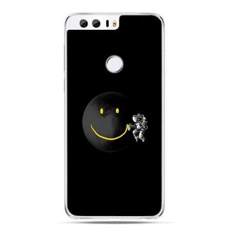 Etui na Huawei Honor 8 - uśmiechnięta planeta