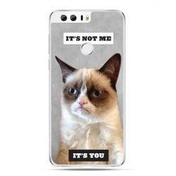 Etui na Huawei Honor 8 - grumpy kot zrzęda