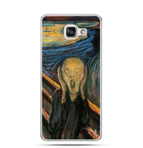 Etui na Samsung Galaxy A3 (2016) A310 - Krzyk Munka