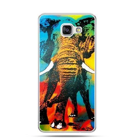Etui na Samsung Galaxy A3 (2016) A310 - kolorowy słoń