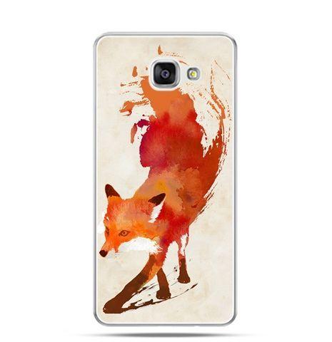 Etui na Samsung Galaxy A3 (2016) A310 - lis watercolor