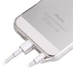 iPhone SE ultra slim przezroczyste etui crystal case DustCup.