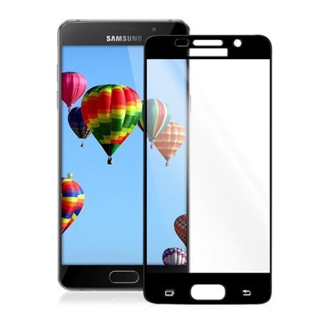 Hartowane szkło na cały ekran 3d Galaxy A5 2016 - czarny.