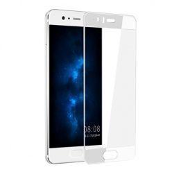 Hartowane szkło na cały ekran 3d Huawei P10 - biały.
