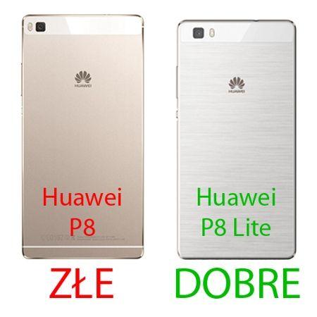 Huawei P8 lite etui aluminium bumper case - Złoty