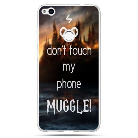 Etui na Huawei P9 Lite 2017 - Don`t touch ..Muggle harry Potter