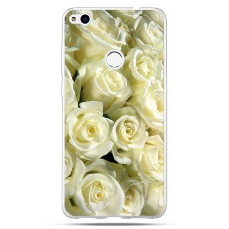 Etui na Huawei P9 Lite 2017 - białe róże