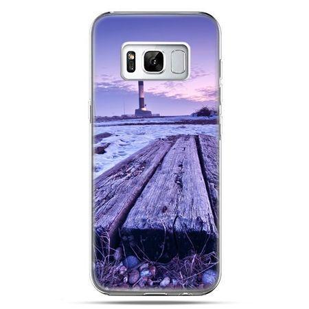 Etui na telefon Samsung Galaxy S8 - latarnia morska zmierzch