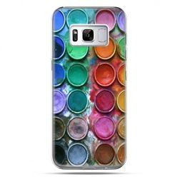 Etui na telefon Samsung Galaxy S8 - kolorowe farbki