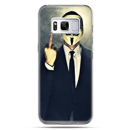 Etui na telefon Samsung Galaxy S8 - Anonimus Fuck You
