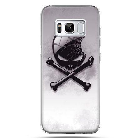 Etui na telefon Samsung Galaxy S8 - logo Apple czacha