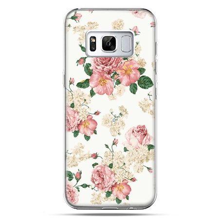 Etui na telefon Samsung Galaxy S8 - polne kwiaty