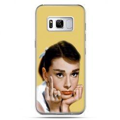 Etui na telefon Samsung Galaxy S8 - Audrey Hepburn Fuck You