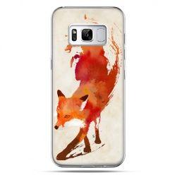 Etui na telefon Samsung Galaxy S8 - lis watercolor