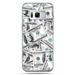 Etui na telefon Samsung Galaxy S8 - dolary banknoty
