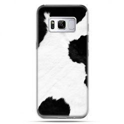 Etui na telefon Samsung Galaxy S8 - łaciata krowa