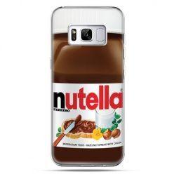 Etui na telefon Samsung Galaxy S8 Plus - Nutella czekolada słoik