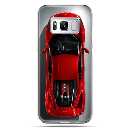 Etui na telefon Samsung Galaxy S8 Plus - czerwone Ferrari