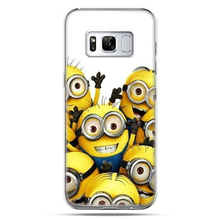 Etui na telefon Samsung Galaxy S8 Plus - Minionki