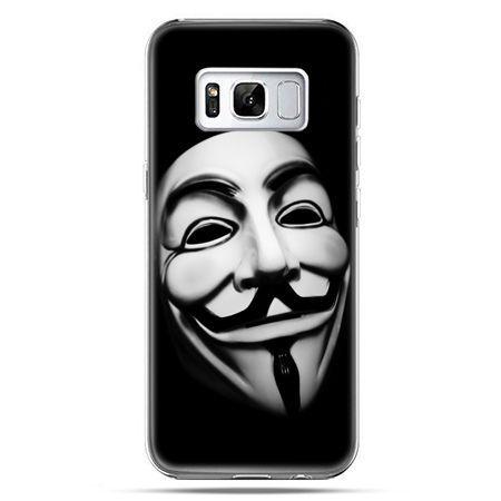 Etui na telefon Samsung Galaxy S8 Plus - maska Anonimus