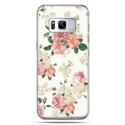 Etui na telefon Samsung Galaxy S8 Plus - polne kwiaty