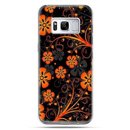 Etui na telefon Samsung Galaxy S8 Plus - nocne kwiaty
