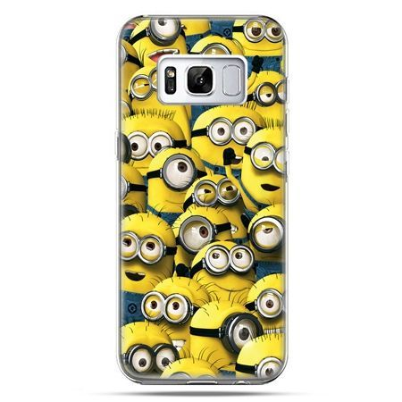 Etui na telefon Samsung Galaxy S8 Plus - Minionki grupa