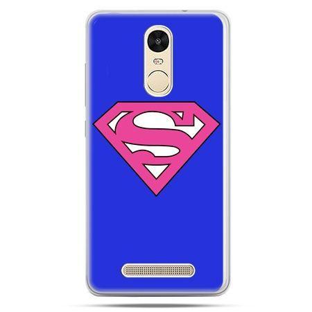 Etui na Xiaomi Redmi Note 3 - Supergirl
