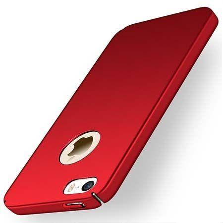Etui na telefon iPhone 5 / 5s - Slim MattE - Czerwony.