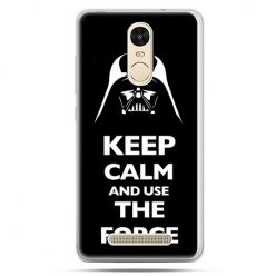 Etui na Xiaomi Redmi Note 3 - Keep calm and use the force