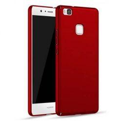 Matowe Etui na telefon Huawei P9 Lite - Slim MattE - Czerwony.