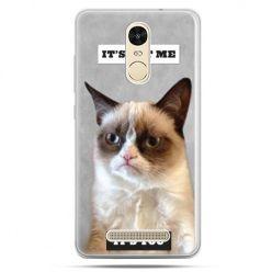 Etui na Xiaomi Redmi Note 3 - grumpy kot zrzęda