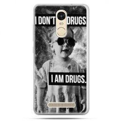 Etui na Xiaomi Redmi Note 3 - I don`t do drugs I am drugs