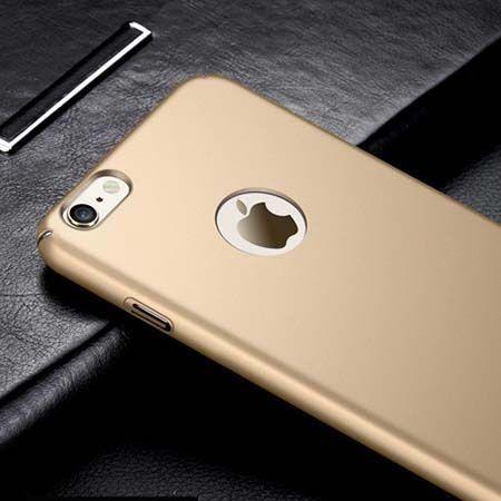 Etui na telefon iPhone 6 / 6s Slim MattE - złoty.