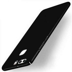 Etui na telefon Huawei P9 Slim MattE - czarny.
