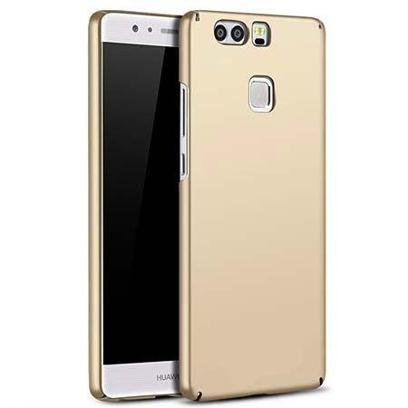 Etui na telefon Huawei P9 Slim MattE - złoty.