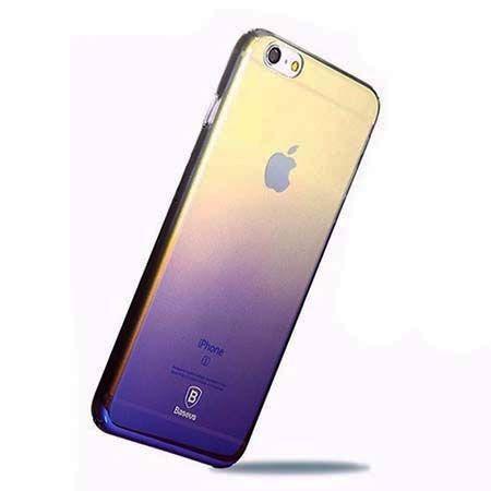 Etui na telefon iPhone 6 Plus - Baseus Aurora - czarny.