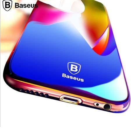 Etui na telefon iPhone 6 / 6s - Baseus Aurora - czarny.